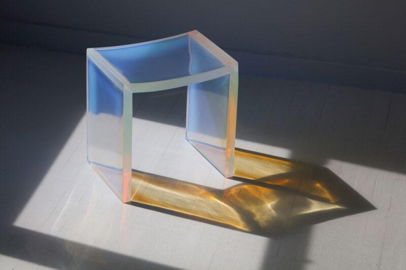 Opal Bent Stool